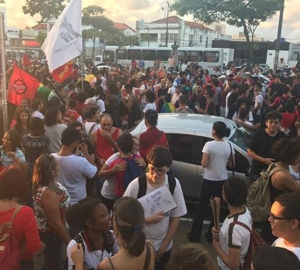 protesto jp2 - Veja imagens de protestos contra Temer em todo o Brasil