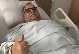 Deputado Rômulo Gouveia reage bem a cirurgia bariátrica