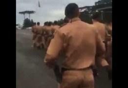 VEJA VÍDEO: Incitação à violência em cântico de treinamento da PM gera polêmica