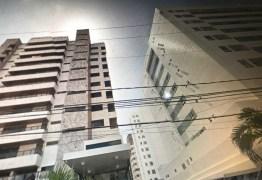 Médico cai do sétimo andar de edifício no Cabo Branco e morre –  VEJA VÍDEO