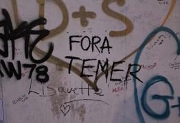 Pichação 'Fora Temer' no Muro de Berlim é obra de poetisa braziliense