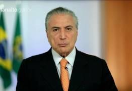 Senador acusa Michel Temer de chantagem e cobra renúncia do presidente
