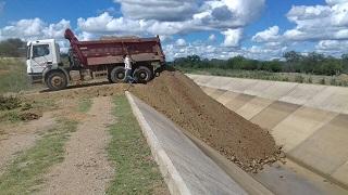 """rompimento 3 - ROMPIMENTO DO CANAL DA TRANSPOSIÇÃO: Bertrand Asfora diz que vazamento foi contido e """"está sob controle"""""""