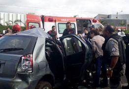 Acidente entre Lagoa Seca e Campina envolvendo ônibus e carro deixa um morto
