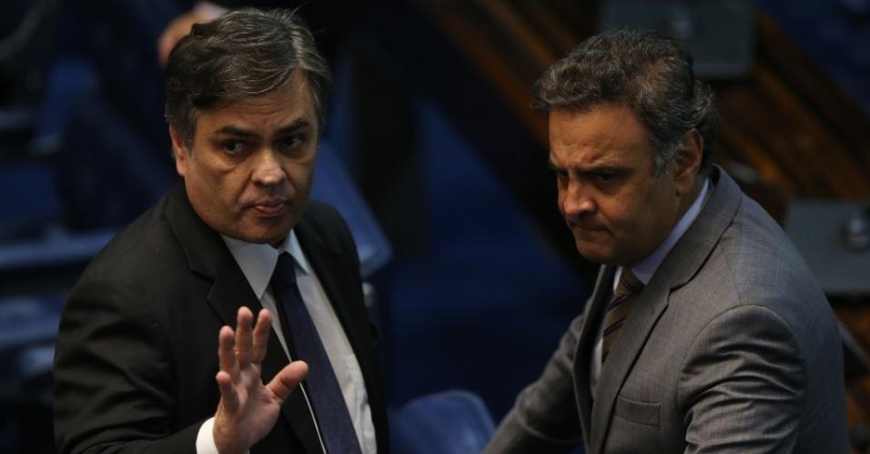 cassio aecio - Aécio faz ameaça a Cássio e cobra lealdade do paraibano, revela O Globo