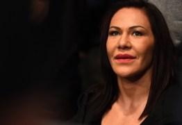 Perto de 1º cinturão, Cyborg diz: 'Não quero ser mais uma no UFC'