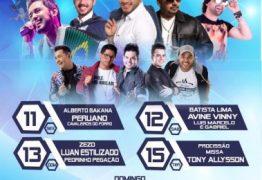 FESTA DA PADROEIRA: Prefeitura de Alhandra divulga programação completa da Festa de Nossa Senhora da Assunção