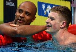 Brasileiro surpreende e é prata no mundial de natação em Budapeste