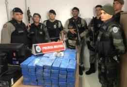Polícia apreende 120 kg de maconha dentro de carro na Capital