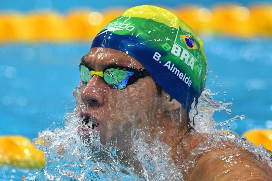 nado - Brasil fica em 5º no 4x100m medley no último dia do Mundial de Budapeste
