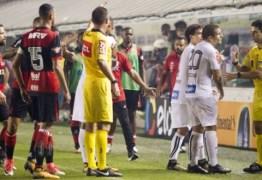 Santos acusa repórter da globo de interferir na arbitragem