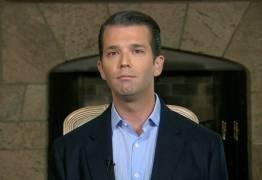Filho de Trump é acusado de participar da interferência russa nas eleições