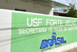 CRM desinterdita mais cinco unidades de saúde em Santa Rita