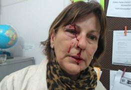 Professora é agredida por aluno dentro da sala de aula