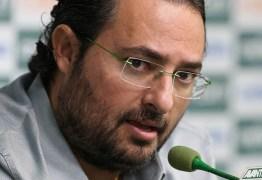 Diretor do Palmeiras recebe ameaças de morte por resultados ruins