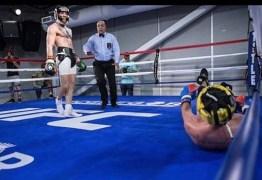 Ex-campeão de boxe explica foto polêmica em treino com McGregor