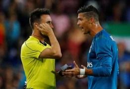 Cristiano Ronaldo reage à suspensão de jogos: 'Isso chama-se perseguição'