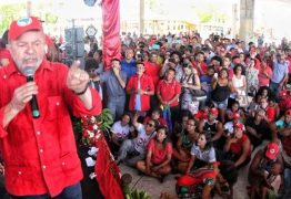 Lula inicia caravana pelo Nordeste com manifestações pró e contra