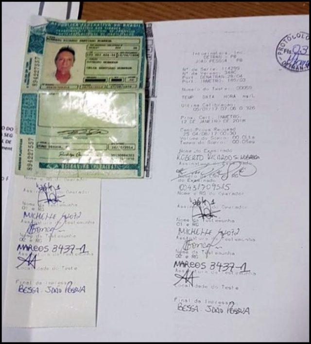 Roberto Santiago 1 e1502062974582 - Roberto Santiago,dono do Manaíra Shopping, é pego em blitz da operação Lei Seca e perde o direito de dirigir