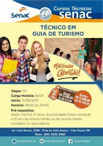 Senac Técnico em Guia de Turismo 212x300 - Senac Paraíba abre inscrições para curso Técnico em Guia de Turismo na capital