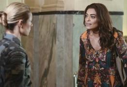 Filha de militar, Juliana Paes se incomoda com as falas de sua personagem na novela
