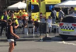 CONFIRMADO: Atropelamento em Barcelona trata-se de ataque terrorista