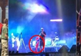 Associação dos Motociclistas de Patos diz que 'bandeira escravista' em show de rock não representa o movimento
