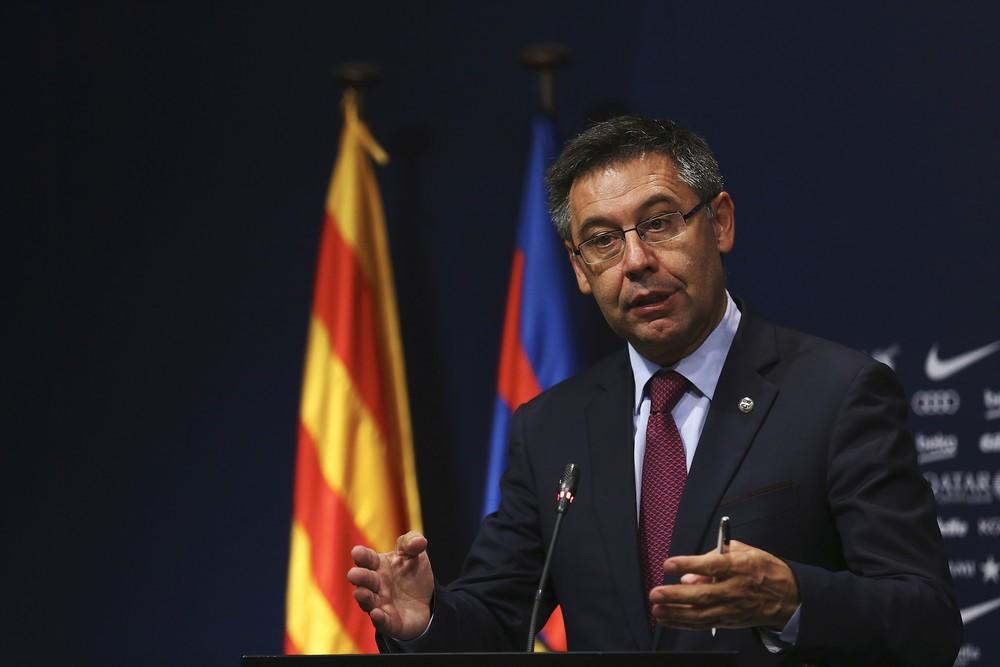 barcelona presidente - Presidente do Barcelona critica Neymar e alfineta dono do PSG