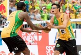 Evandro e André são campeões no Mundial da Áustria de vôlei de praia