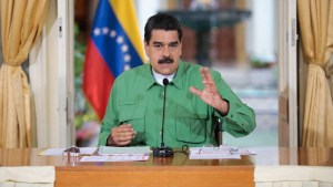 maduro 300x169 - Nicolás Maduro afirma querer diálogo com governo norte-americano