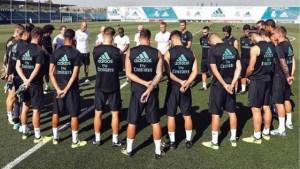 real madrid atentado 300x169 - Barcelona e Real Madrid fazem minuto de silêncio em treinos para vítimas de atentado