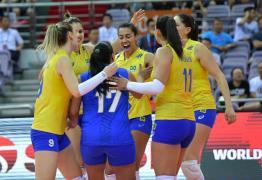Brasil vence a Sérvia e está na final do Grand Prix