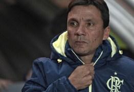 Zé Ricardo não é mais técnico do Flamengo