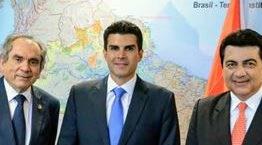Lira e Manoel Jr. discutem liberação de verbas para barreira do Cabo Branco com ministro