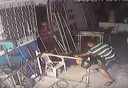 VEJA VÍDEO: Homem é assassinado dentro do local de trabalho