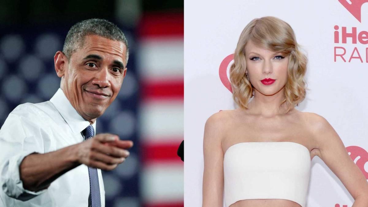 BARACK OBAMA TAYLOR SWIFT - VEJA VÍDEO: Barack Obama canta 'Look what you made me do' de Taylor Swift e viraliza na internet