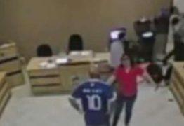 VEJA VÍDEO: Durante sessão no Paraná, vereador quebra a perna em briga