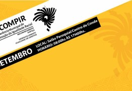 Conde realiza a II Conferência de Promoção da Igualdade Racial no dia 28 de setembro