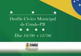 Prefeitura do Conde comemora Mês da Independência neste domingo