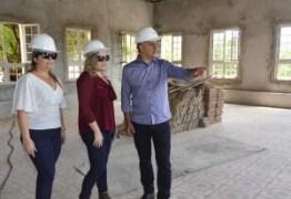Luciano Cartaxo visita obras do Conventinho e destaca ocupação do Centro Histórico com cultura e artes