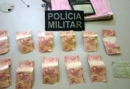 Homem é preso ao tentar fazer compras com notas falsas de R$ 10