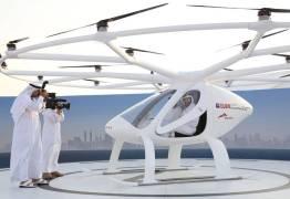 VEJA VÍDEO: Dubai testa serviço de táxi com drones