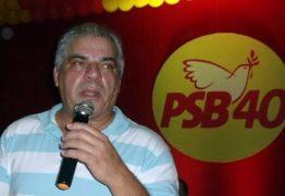 Diário Oficial do Estado traz exoneração do Presidente estadual do PSB