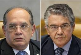 OUÇA: Marco Aurélio Mello diz que usaria arma de fogo contra Gilmar Mendes