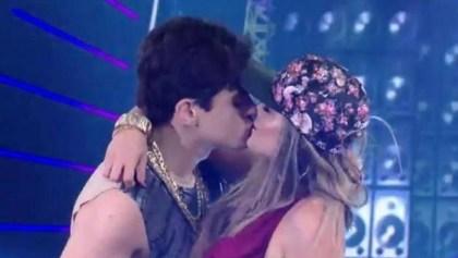 lucas - Lucas Veloso e Nathalia se beijam durante funk na 'Dança dos Famosos'