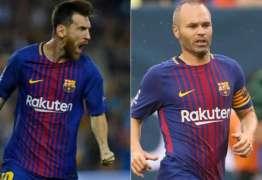 Presidente do Barcelona fala sobre o futuro de Messi e Iniesta