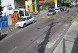VEJA VÍDEO: Novas imagens mostram segurança sendo baleado ao tentar salvar mãe e filha de assalto em João Pessoa