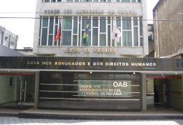 OAB-PB entra em rota de colisão com Ministério Público