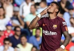 Companheiro de Barcelona elogia atuações de Paulinho na Espanha