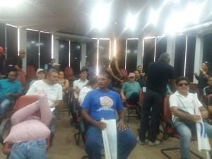 protesto agentes 300x225 - Agentes de saúde voltam a protestar e invadem a CMJP